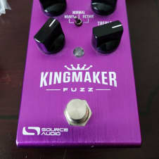 Source Audio Kingmaker Fuzz Overdrive Distortion Stereo Programmable w/ PSU and Box LA Lady