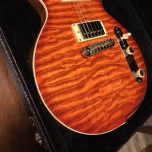 Larose Hollowman Singlecut Style Flammed Maple. , Lollar Low Wind. 6.0 lbs (Layaway available) for sale