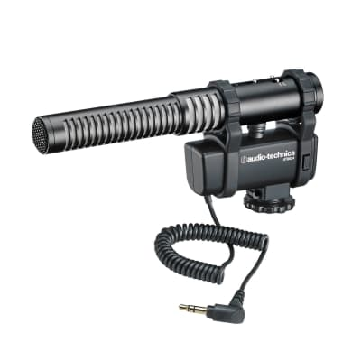 Audio-Technica AT8024 Camera-Mount Stereo/Mono Microphone