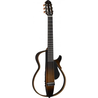 Yamaha SLG200NTBS Nylon String Tobacco Sunburst Silent Guitar