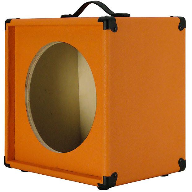 1x12 guitar speaker extension empty cabinet orange tolex reverb. Black Bedroom Furniture Sets. Home Design Ideas