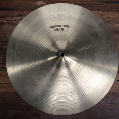 "A. Zildjian 16"" Hollow Logo Medium-Thin Crash Cymbal 1978 - 1982"