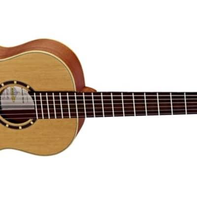 Ortega Family Series Satin 1/2 Size Acoustic Guitar Cedar for sale