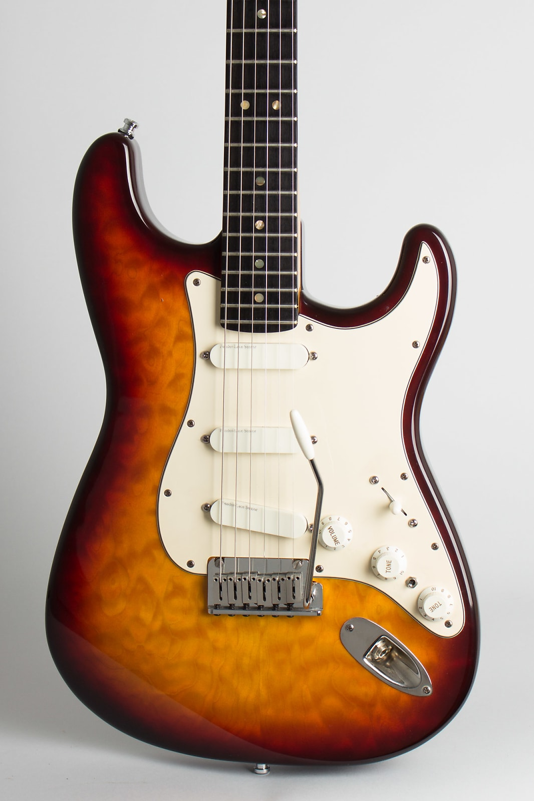 Fender  Stratocaster 35th Anniversary Solid Body Electric Guitar (1989), ser. #212 of 500, original tweed hard shell case.