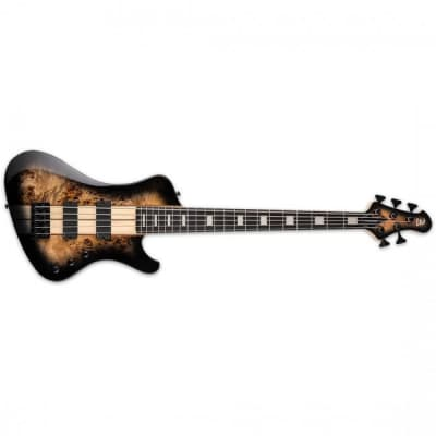 ESP LTD STREAM-1005 Bass Guitar 5-String Black Natural Burst - LSTREAM-1005NB for sale