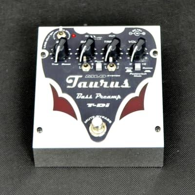 Taurus T-Di Bass preamp & Di-Box for sale