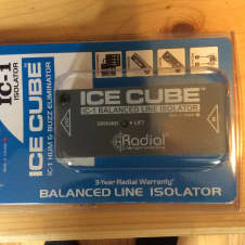 Radial IC-1 Ice Cube, never opened * free shipping*