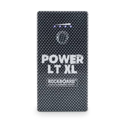 Rockboard Power LT XL Rechargeable Pedal Power Supply, Carbon