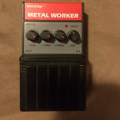 Rocktek MWR-01 Metal Worker HM-2 HM2 Copy for sale