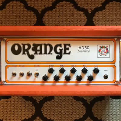 Orange AD30 Head w/ Mercury Magnetics Transformers Upgrade