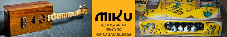 Miku cigar box guitars and stuff