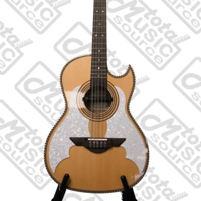 H. Jimenez Bajo Quinto,LBQ3E, solid spruce top with gig bag - Thin body - Two Micas - with Seymour Duncan pickup for sale