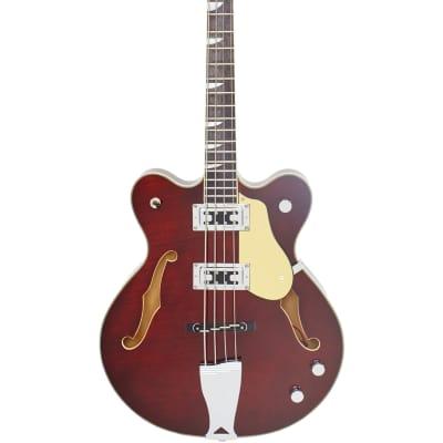 Eastwood Guitars Classic 4 Bass - Walnut - 30
