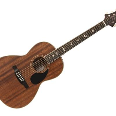 Paul Reed Smith SE Tonare Parlor Hollow Body Acoustic-Electric Guitar Ebony/Vintage Mahogany