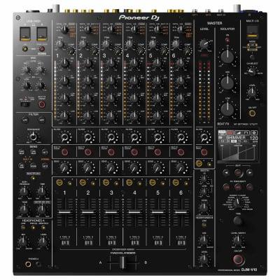 Pioneer DJ DJM-V10 6-Channel 4 Band EQ Serato DVS Professional Club Mixer