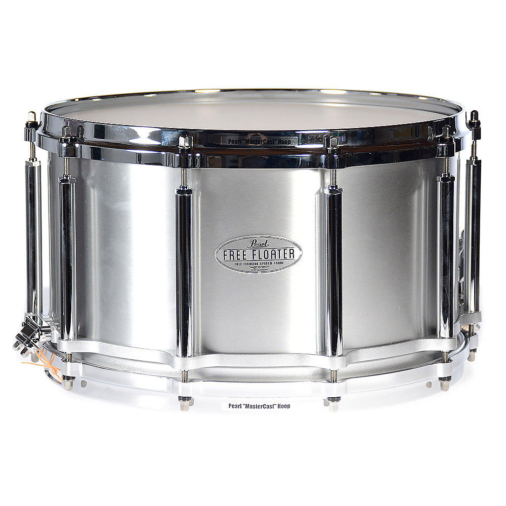 Pearl 8x14 Task-Specific 1.2mm Seamless Aluminum Free Floating Snare ...