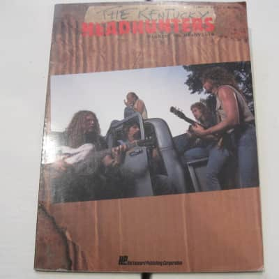 The Kentucky Headhunters Pickin' On Nashville Sheet Music Song Book Songbook Piano Vocal Guitar
