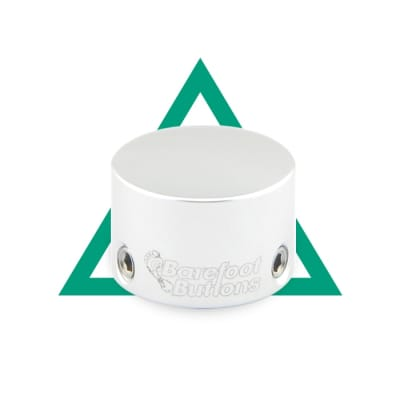 NEW BAREFOOT BUTTONS V1 - Mini Tall Boy - Silver