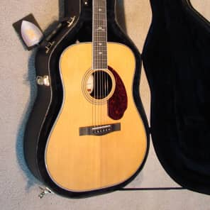 Fender Paramount PM-1 Deluxe Acoustic Electric Dreadnought Guitar, New Hard Shell Case, *MINT*  #70