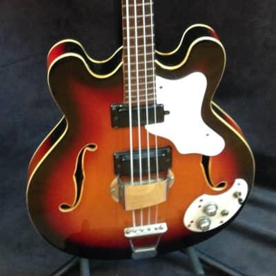 Mosrite Celebrity III Mark X 1968 Electric Bass sunburst with Hard case for sale