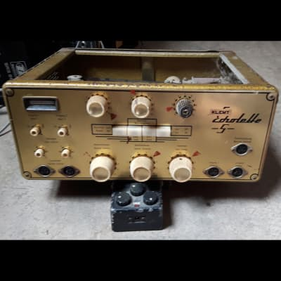 Klemt Echolette 5 1959 Gold (Tape Echo with Hot Tubes) for sale