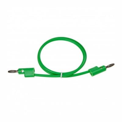 "Buchla Banana Cable 20"" Green [Three Wave Music]"