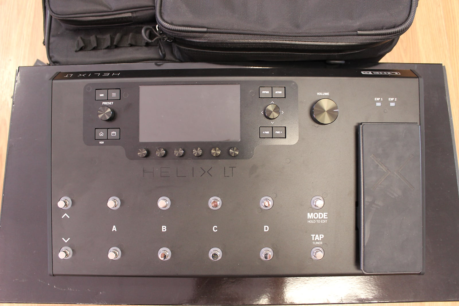 Line 6 Helix LT Guitar Multi-Effects Processor & Helix Backpack - Free  Shipping!