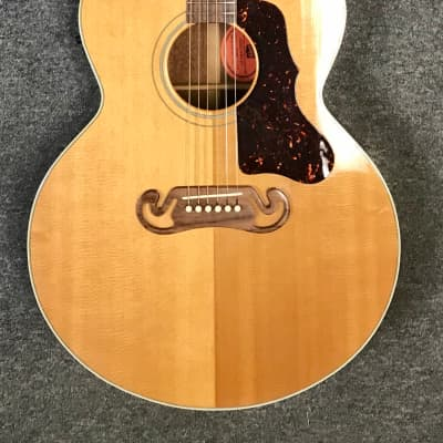Gibson J-100 Xtra Electric Acoustic Guitar Antique Natural Cutaway with Hard Case for sale