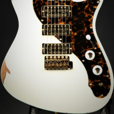 Asher GT3 - Olympic White/NAMM Instrument for sale