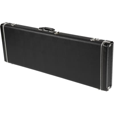 Fender Standard Mustang/Jag-Stang/Cyclone Hardshell Case - Black with Black Acrylic Interior for sale