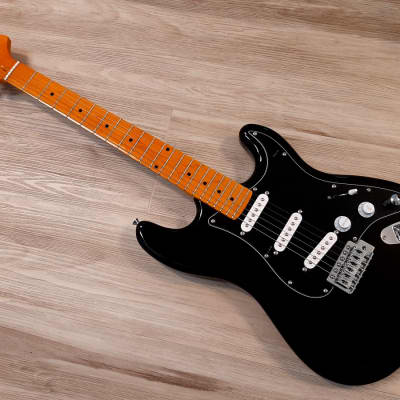 2020 Elite® Stratocaster Style Guitar Heavily  MOD'd  Black Classic Strat SSS Gilmour Style for sale