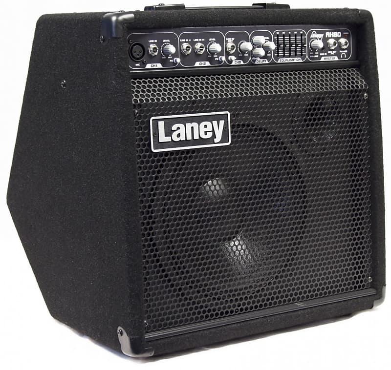 laney audiohub combo ah80 80 watt 1x10 3 channel reverb. Black Bedroom Furniture Sets. Home Design Ideas