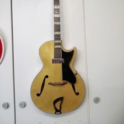 Framus Peter Kraus Gitarre Exportmodel 1959 natural