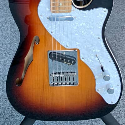 Fender  '72 telecaster thinline  2018 Sunburst for sale