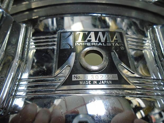 used tama imperialstar 14 snare drum made in japan reverb. Black Bedroom Furniture Sets. Home Design Ideas