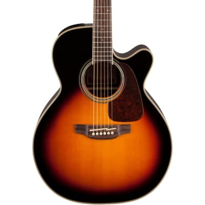 Takamine GN71CE BSB G70 Series NEX Cutaway Acoustic/Electric Guitar Gloss Brown Sunburst