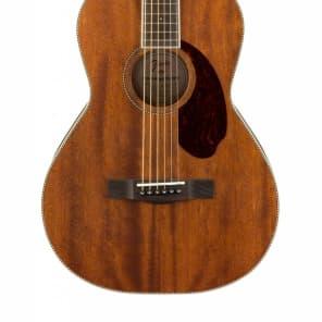 Fender Paramount Series PM-2 Parlor NE All-Mahogany Natural