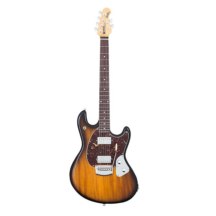 Ernie Ball Music Man StingRay Guitar Tobacco Burst