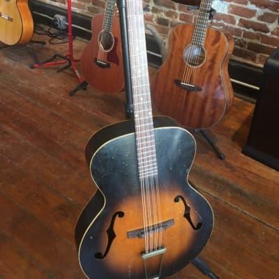 1930s Kalamazoo KK31 Mandocello Sunburst for sale