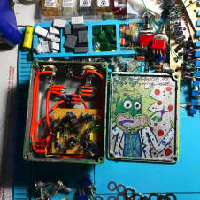 Built by Ryan Handmade SuperFuzz 2017 Space greens doomzzzzz rick and morty acid trip