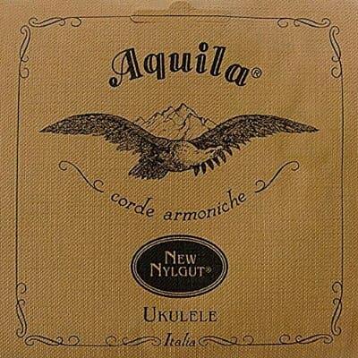 Aquila 5U NylGut Soprano Ukulele with Low G String Set. New in Original Packaging!