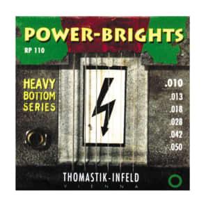 Thomastik-InfeldRP110 Power Brights Heavy Bottom Magnecore Round-Wound Guitar Strings - Medium Light (.10 - .50)