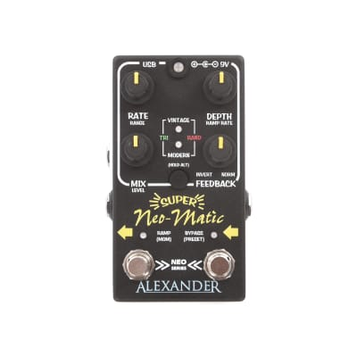 Alexander Pedals Super Neo-Matic Delay Modulator