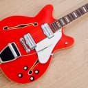 1967 Fender Coronado II Vintage Hollowbody Electric Guitar Cherry w/ Case