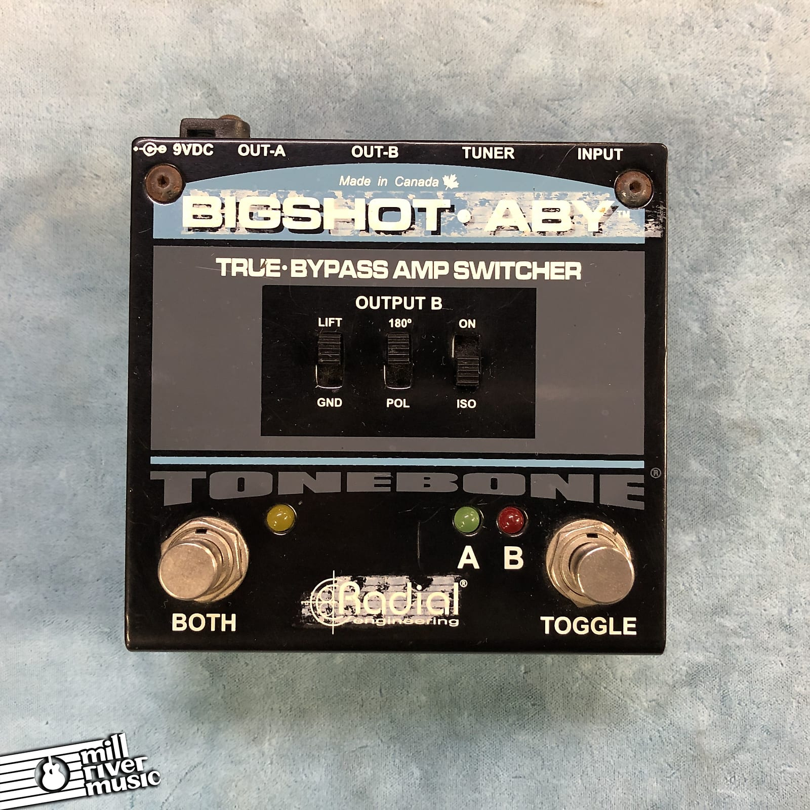 Radial Engineering Tonebone BigShot ABY True Bypass Switcher Pedal
