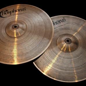 """Bosphorus 14"""" New Orleans Series Hi-Hat Cymbals (Pair)"""
