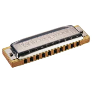 Hohner 532BX-F MS Series Modular Blues Harp Harmonica - Key of F