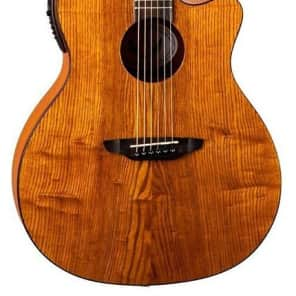 Luna GYP E ASH Gypsy Acoustic-Electric Guitar, Gloss Natural for sale