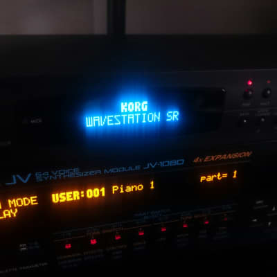 OLED Display Upgrade - Korg Wavestation SR (Red/White/Blue/Amber)