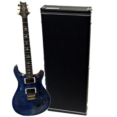 PRS 10 TOP Pattern Custom 24 Faded Blue Jean Thin H5-5V Limited Electric Guitar